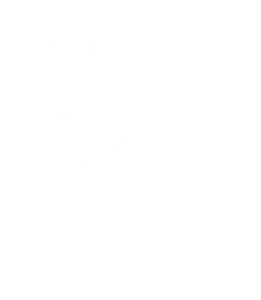 Logo met tekst WIT